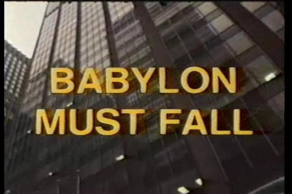 Babylon must fall