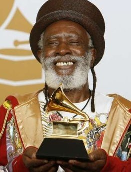 Burning Spear wins Grammy Award