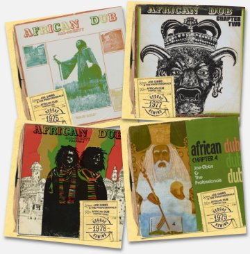 African Dub vol. 1, 2, 3 and 4