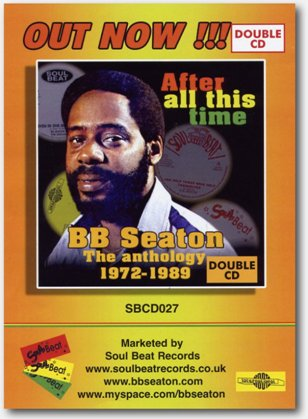 BB seaton - After All This Time flyer