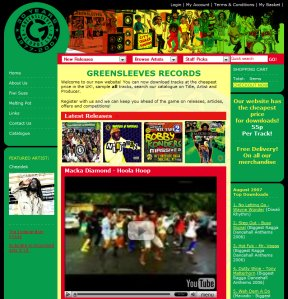Greensleeves new website