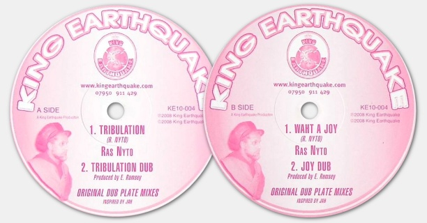 Ras Nyto - Tribulation / What A Joy (King Earthquake)