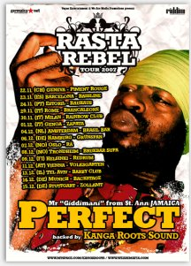 Perfect - Rasta Rebel Tour