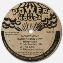 Barrington Levy - Money Move - label A