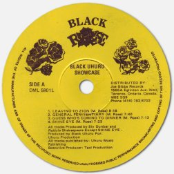 Black Uhuru - Showcase - Black Rose label A