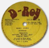 Black Uhuru - Showcase - D-Roy labels 02