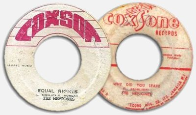The Heptones' labels