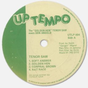 Tenor Saw and Don Angelo - Golden Hen - label A