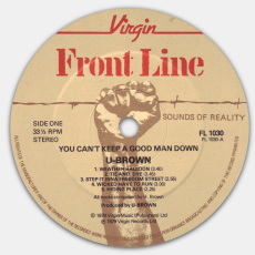 U Brown - You Cant Keep A Good Man Down