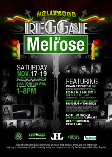 Reggae on melrose