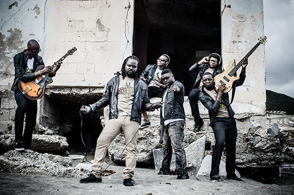 Mystikal Revolution reggae band 2013