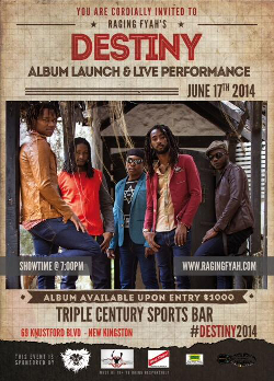 Raging Fyah Album Launch