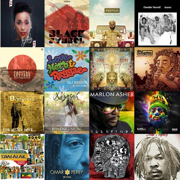 Reggae albums in 2015