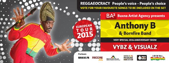Anthony B European Tour 2015