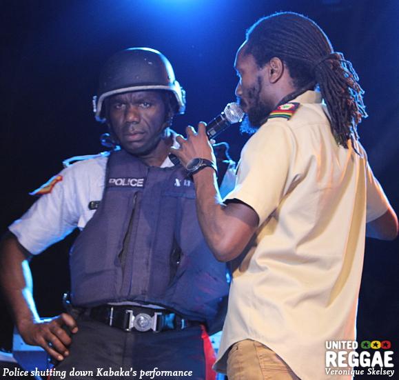 Kabaka Pyramid and Police