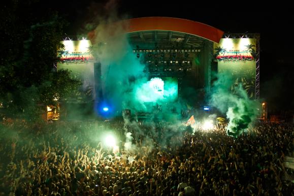 Summerjam main stage
