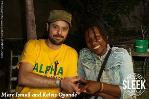 Marc Ismail and Keteis Oyondé