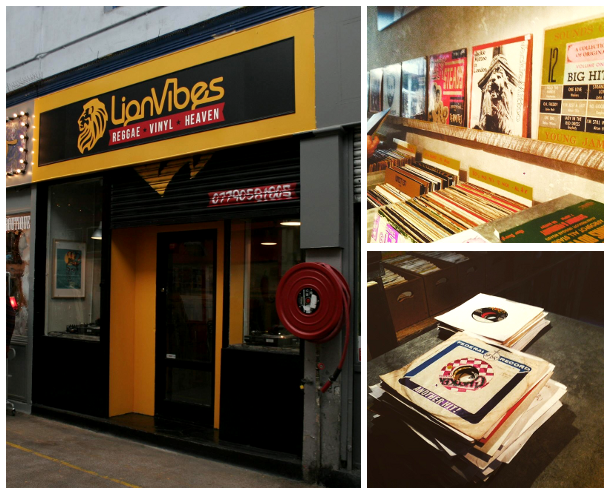 LionVibes record shop
