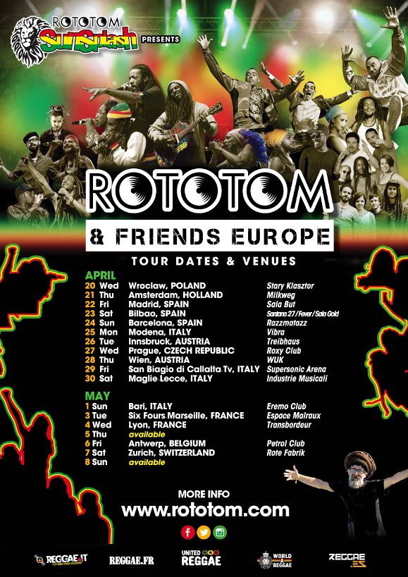 Rototom & Friends Europe 2016