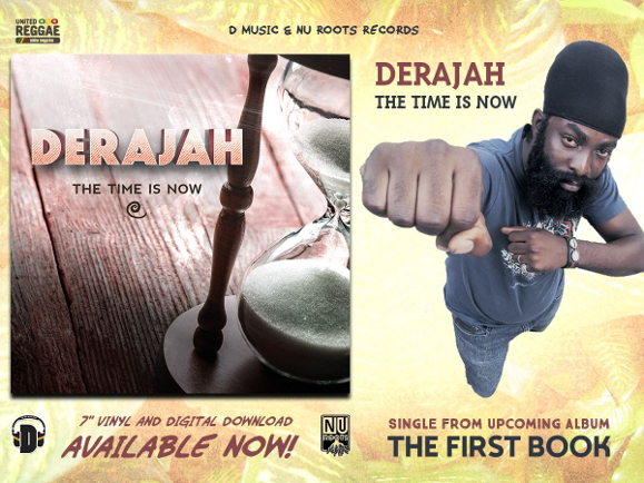 Derajah - The Time Is Now (flyer)