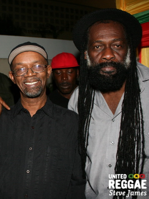 Beres Hammond and Jimmy Riley