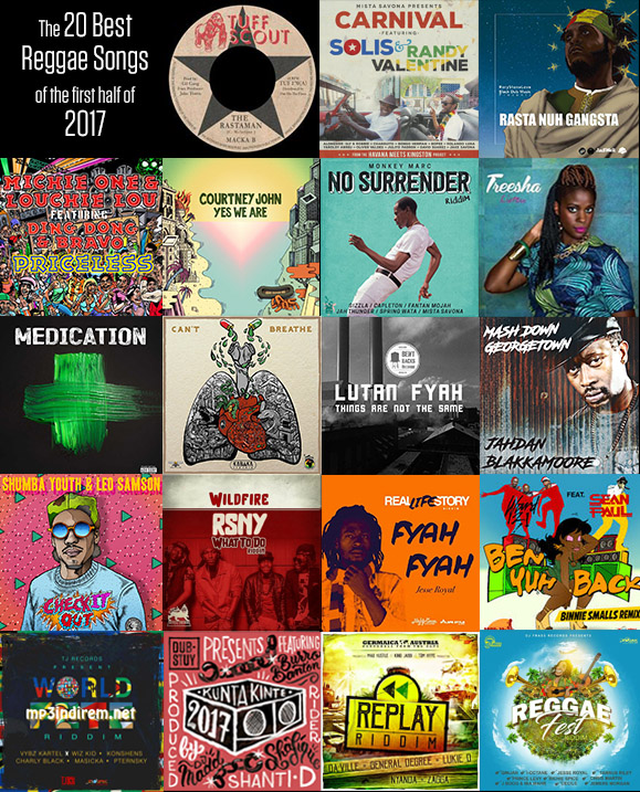 Best Reggae first half 2017