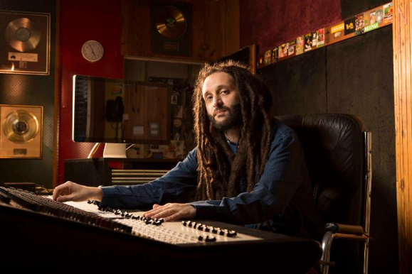 Alborosie in Studio