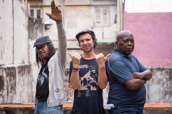Mista Savona with Sly & Robbie