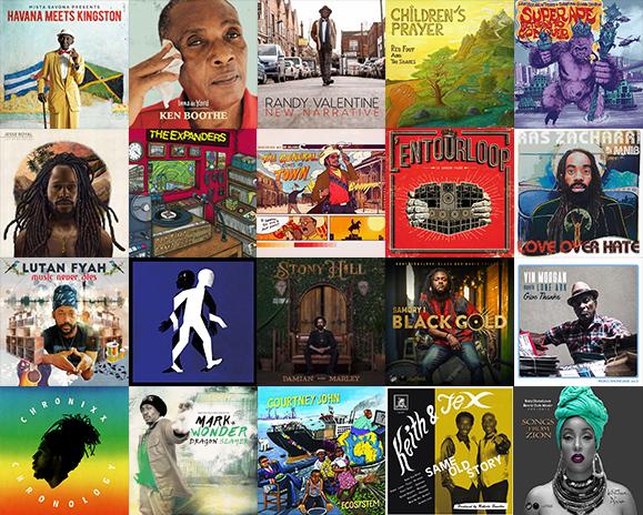 Best 20 reggae 2017