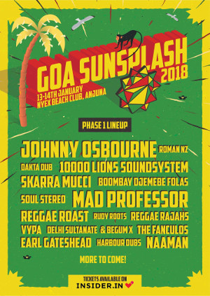 Goa Sunsplash Festival 2018