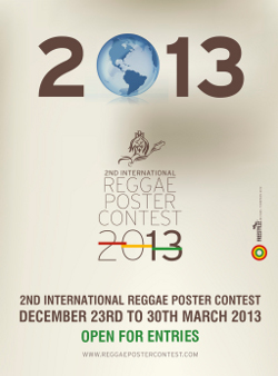 International Reggae Poster Contest 2013