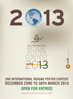 International Reggae Poster Contest 2013