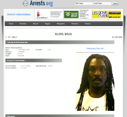 Anthony B Arrested