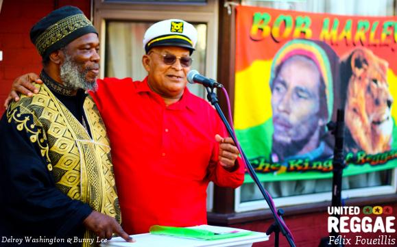 Bob Marley Blue Plaque - London