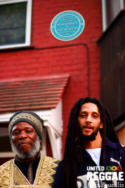 Bob Marley Blue Plaque - London