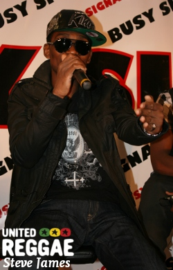 Busy Signal press conference