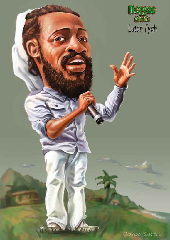 Lutan Fyah caricature