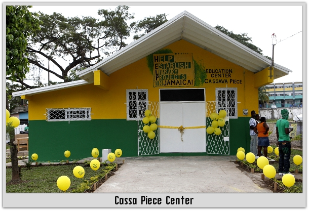 Cassava Piece Center