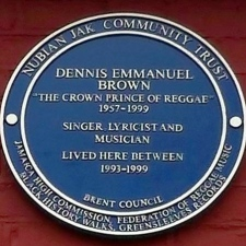 Dennis Brown Blue Plaque