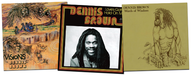 Dennis Brown - Joe Gibbs albums