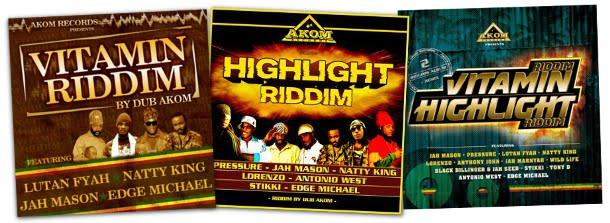 Dub Akom releases