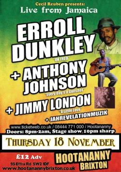 Errol Dunkley in London