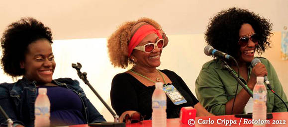 Etana, Marcia Griffiths and Tanya Stephens / Rototom 2012
