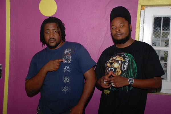 Flava and Pressure in No Doubt studios