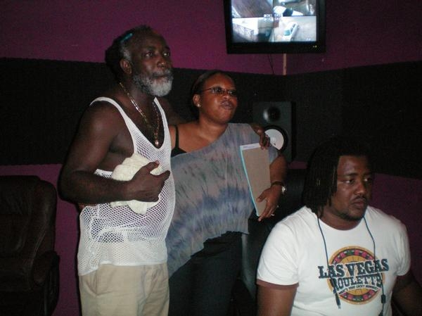 Freddie McGregor in No Doubt studios