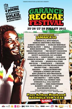 Garance Reggae Festival 2012