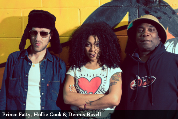 Prince Fatty, Hollie Cook and Dennis Bovell