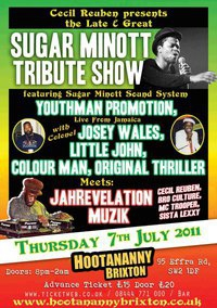 Sugar Minott Tribute Show