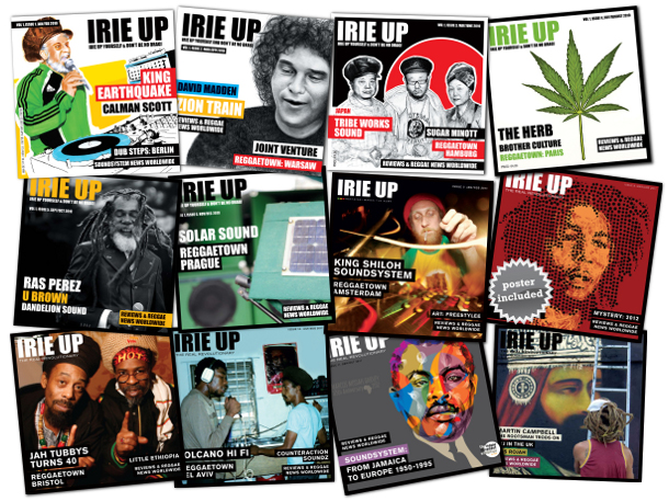 Irie Up magazine issues