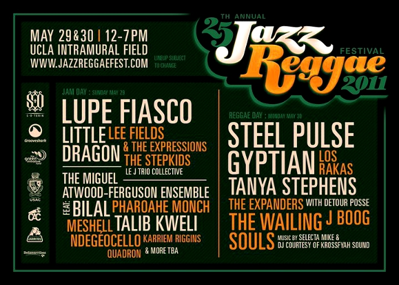 UCLA Jazz Reggae Festival 2011